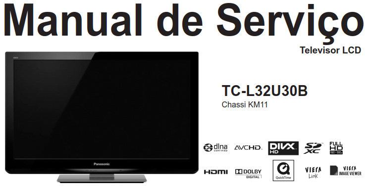 Manual de Serviço Panasonic TC-L32U30B