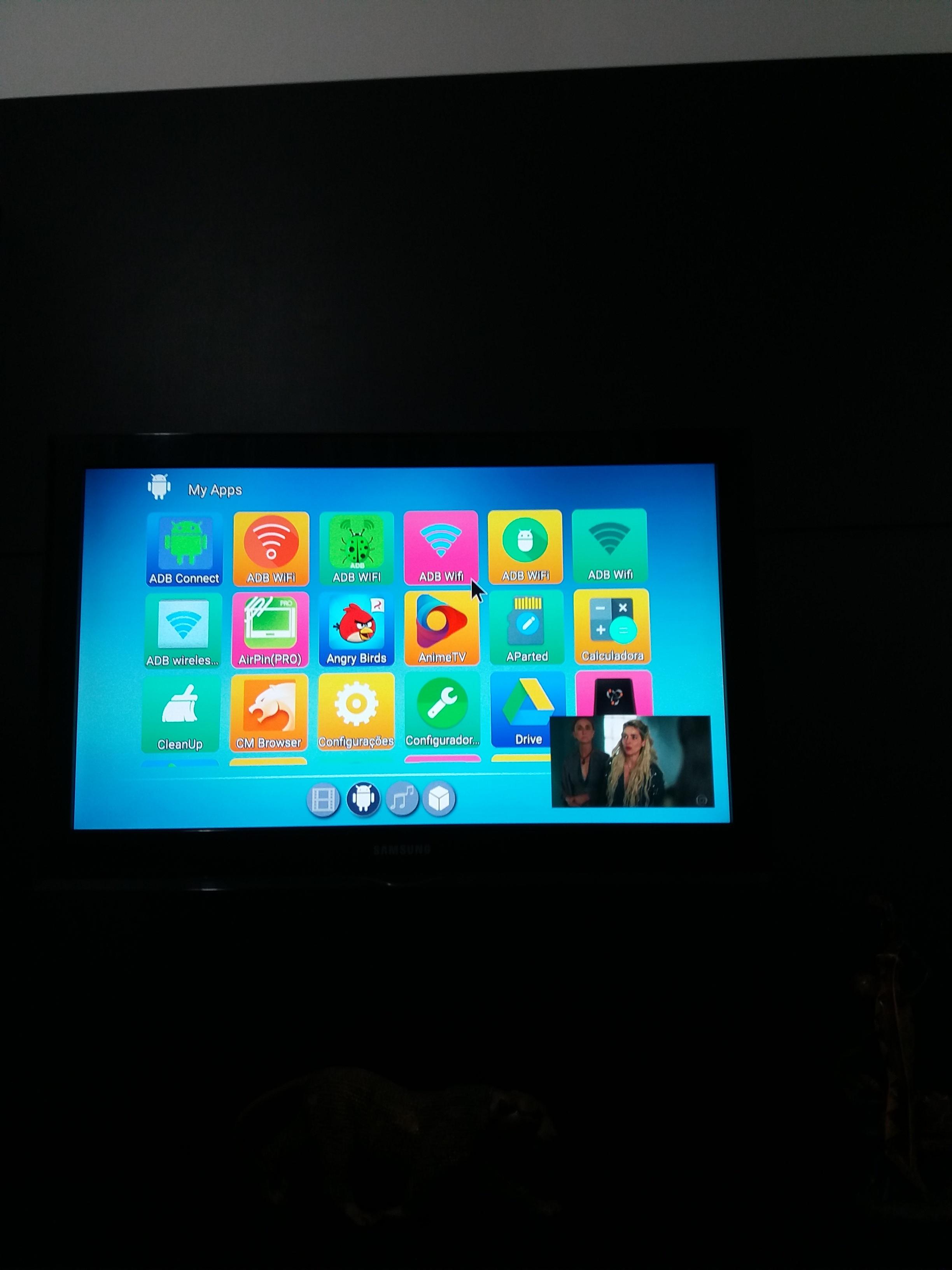Android tv box MX9 preciso dica de como regravar memoria